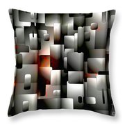 Abstraction 829 - Marucii Throw Pillow