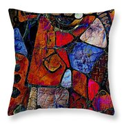 Abstraction 858 -marucii Throw Pillow