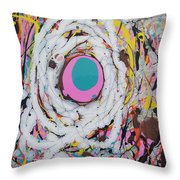 Abstraction #91  Throw Pillow
