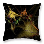 Abstraction... Throw Pillow