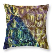 Abstraction From A Sculpture Throw Pillow