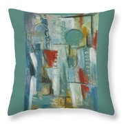 Abstraction I Throw Pillow