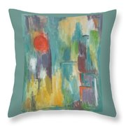Abstraction II Throw Pillow