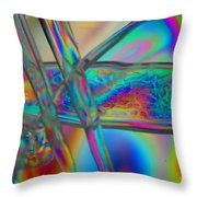 Abstraction In Color 2 Throw Pillow