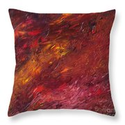 Abstraction Of A Dream Throw Pillow