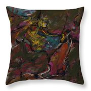 Abstraction#1 Throw Pillow