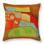 Abstraction123 Throw Pillow