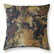 Abstraction#3 Throw Pillow