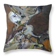 Abstraction#7 Throw Pillow