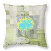 Abstractionnel - 29grfl3c-gr3 Throw Pillow