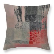 Abstractionnel Throw Pillow