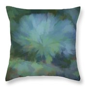 Abstractions From Nature - Live Oak Collar Throw Pillow