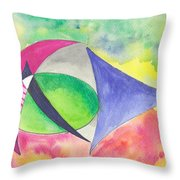 Abstracto Throw Pillow