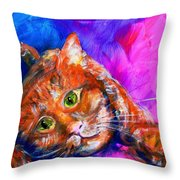 Abstrcat Throw Pillow