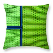 Abstritecture 10 Throw Pillow