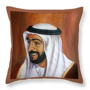 Abu Dhabi  Throw Pillow
