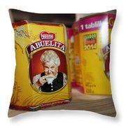 Abuelita Throw Pillow