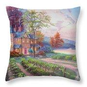 Abundant Harvest Throw Pillow