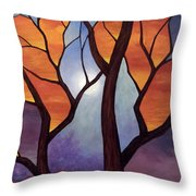 Abyss Of Aether Throw Pillow