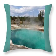 Abyss Pool Throw Pillow