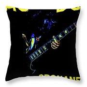 Ac Dc Rocks 2 Throw Pillow
