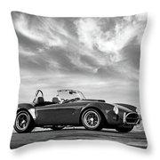 Ac Shelby Cobra Throw Pillow