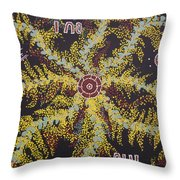 Acacia Blossoms In Oz Throw Pillow