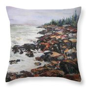 Acadian Afternoon Throw Pillow