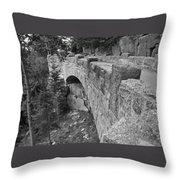 Acadian Bridge Throw Pillow