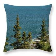Acadia's Atlantic Throw Pillow