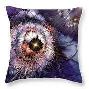 Accelerating The Process Within Throw Pillow