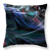 Acceleration Throw Pillow