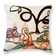 Acceptance Of The Day Throw Pillow