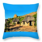 Accommodation In Bulawayo  Throw Pillow