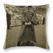Account Of The Evacuation Of The Surviving Throw Pillow