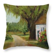 Ace Basin Cottage Throw Pillow