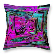 Ace In The Hole Throw Pillow