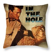 Ace In The Hole Film Noir Throw Pillow