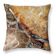 Ace Of Wands Throw Pillow