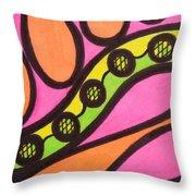 Aceo Abstract Design Throw Pillow