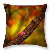 Acer Resting Throw Pillow