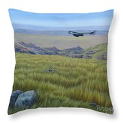 Achala  Landscape Throw Pillow