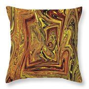 Achey Breaking Arts In Living Color Throw Pillow