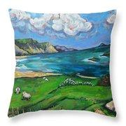 Achill Island Throw Pillow