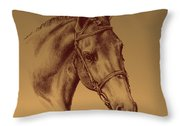 Achilles Throw Pillow