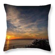 Aci Trezza Wakes Up Throw Pillow