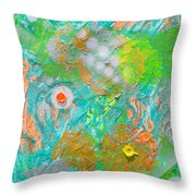 Acid Trip Number 2 Throw Pillow