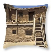Acoma Pueblo Throw Pillow