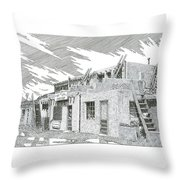 Acoma Sky City Throw Pillow