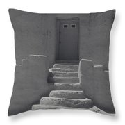 Acoma Steps Throw Pillow